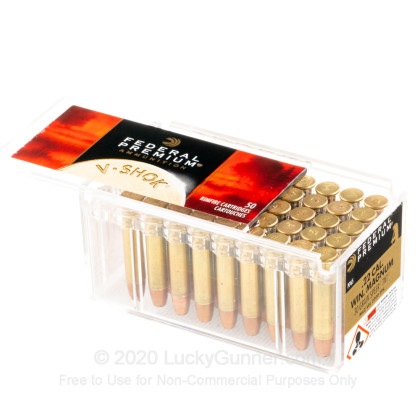 Image 3 of Federal .22 Magnum (WMR) Ammo