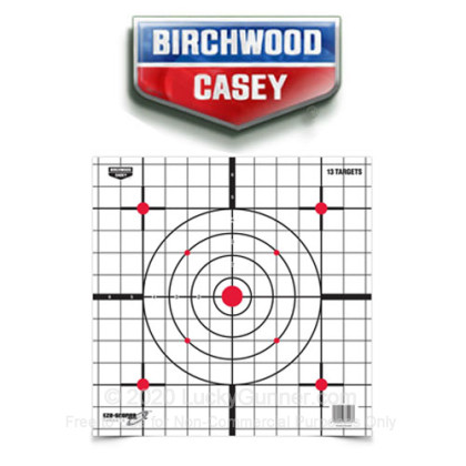 "Large image of Birchwood Casey Targets For Sale - EZE SCORER 12"" Sight-In Targets - Birchwood Casey Targets For Sale"