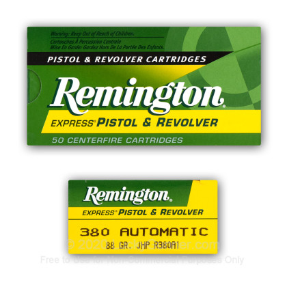 Image 6 of Remington .380 Auto (ACP) Ammo