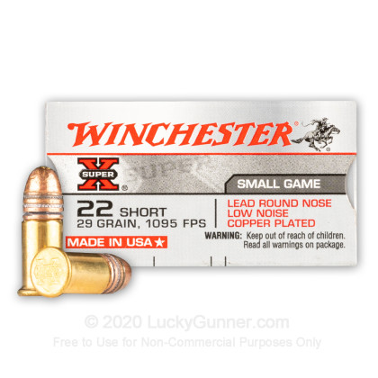 Image 1 of Winchester .22 Short Ammo