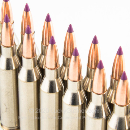 Large image of Premium243 Win Ammo For Sale - 70 Grain Nosler Ballistic Tip Ammunition in Stock by Federal Vital-Shok - 20 Rounds