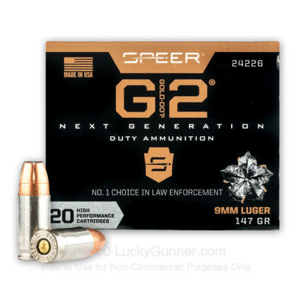 Image 2 of Speer 9mm Luger (9x19) Ammo