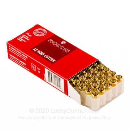 Image 3 of Fiocchi .32 (Smith & Wesson) Long Ammo