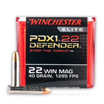 Image 1 of Winchester .22 Magnum (WMR) Ammo