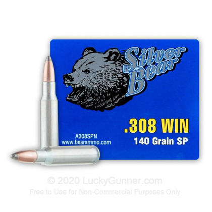 Image 2 of Silver Bear .308 (7.62X51) Ammo