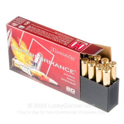 Image 3 of Hornady 7mm Remington Magnum Ammo