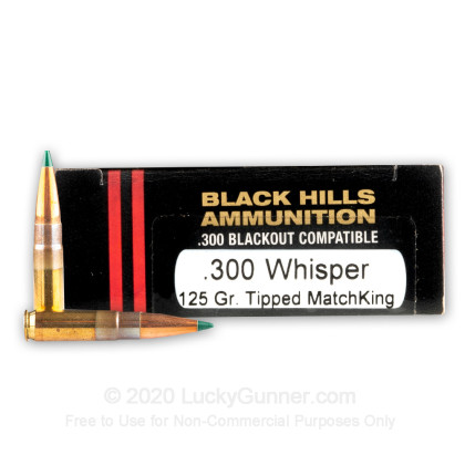 Image 1 of Black Hills Ammunition .300 Blackout Ammo