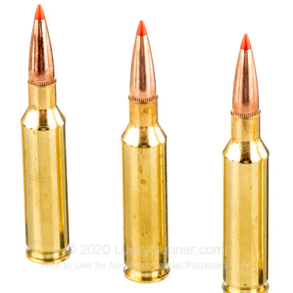 Large image of Premium 6.5 Creedmoor Ammo For Sale - 129 Grain SST Ammunition in Stock by Fiocchi - 20 Rounds