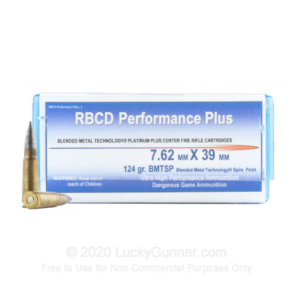 Image 1 of RBCD Performance Plus 7.62X39 Ammo