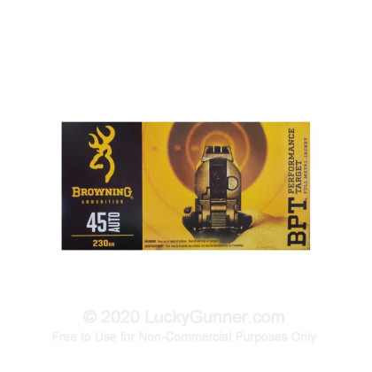 Image 1 of Browning .45 ACP (Auto) Ammo