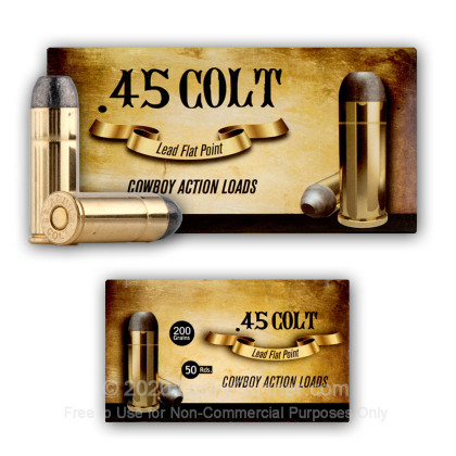 Image 4 of Aguila .45 Long Colt Ammo