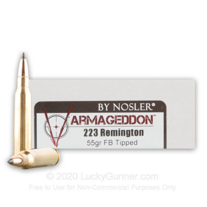 Image 1 of Nosler Ammunition .223 Remington Ammo