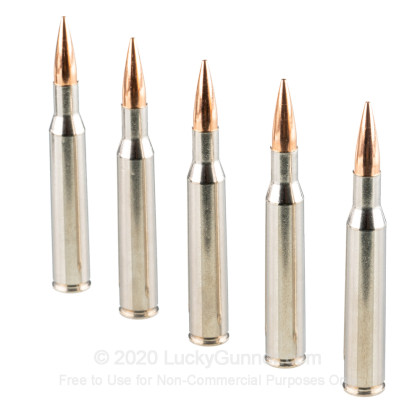 Large image of Premium 270 Ammo For Sale - 140 Grain Berger Hybrid Hunter Ammunition in Stock by Federal - 20 Rounds