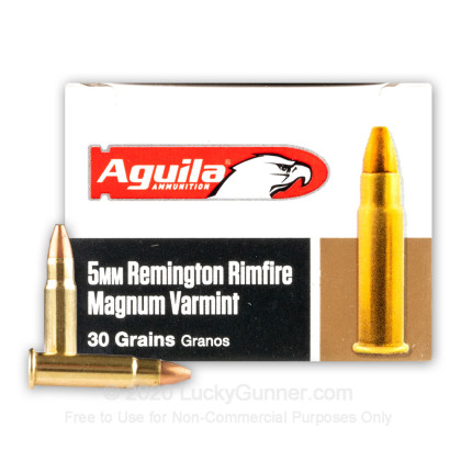 Image 2 of Aguila 5mm Remington Magnum Ammo
