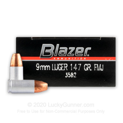 Image 1 of Blazer 9mm Luger (9x19) Ammo