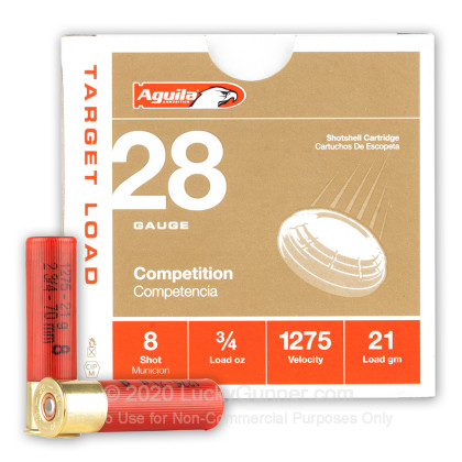 Image 1 of Aguila 28 Gauge Ammo