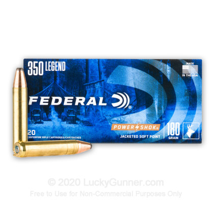 Image 2 of Federal 350 Legend Ammo