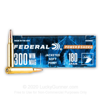 Image 2 of Federal .300 Winchester Magnum Ammo