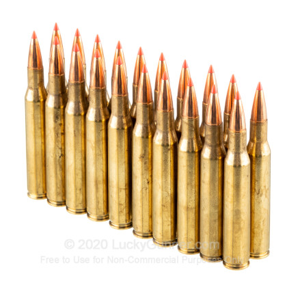 Large image of Premium 270 Ammo For Sale - 130 Grain GMX Ammunition in Stock by Hornady Full Boar - 20 Rounds