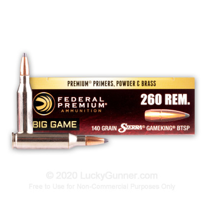Image 1 of Federal .260 Remington Ammo