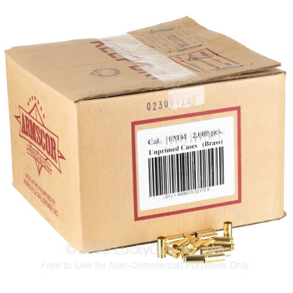 Large image of Bulk 10mm Auto Brass Casings For Sale - 10mm Auto Casings in Stock by Armscor - 2000