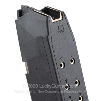 Large image of Premium 40 S&W Magazine For Sale - 22 Round 40 S&W Magazine in Stock by Glock for 40 S&W Glocks - 1 Magazine