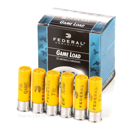 Image 3 of Federal 20 Gauge Ammo