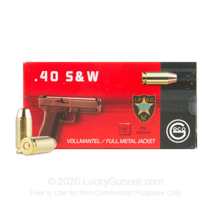 Image 2 of GECO .40 S&W (Smith & Wesson) Ammo