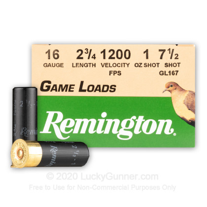Image 1 of Remington 16 Gauge Ammo
