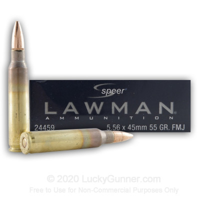 Image 1 of Speer 5.56x45mm Ammo
