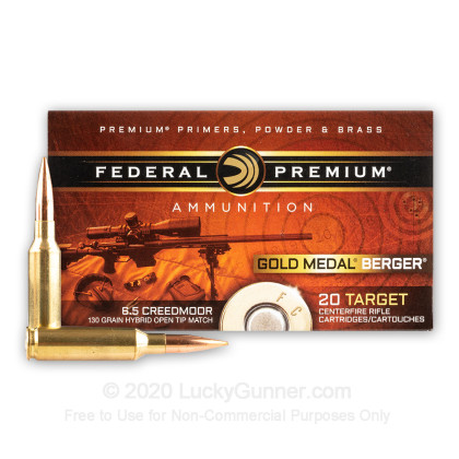 Image 2 of Federal 6.5mm Creedmoor Ammo