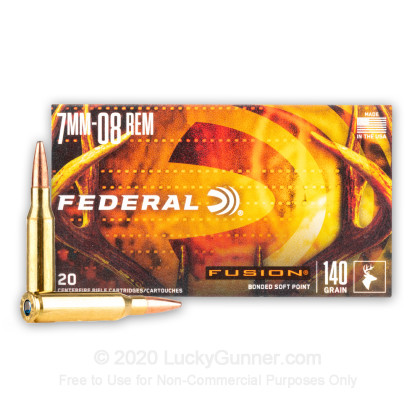 Image 1 of Federal 7mm-08 Remington Ammo