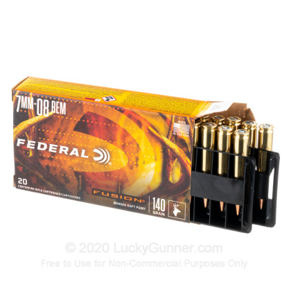 Image 3 of Federal 7mm-08 Remington Ammo