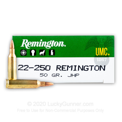 Image 1 of Remington .22-250 Remington Ammo