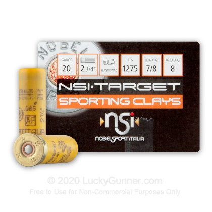 Image 1 of NobelSport 20 Gauge Ammo