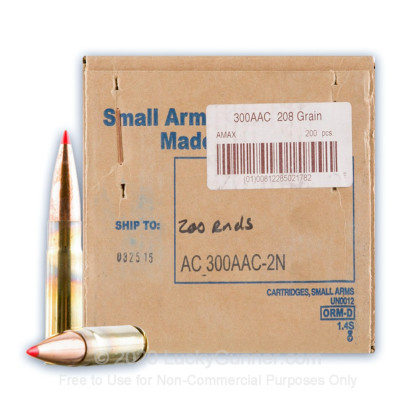 Image 1 of Armscor .300 Blackout Ammo