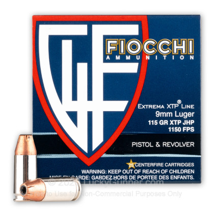 Image 2 of Fiocchi 9mm Luger (9x19) Ammo
