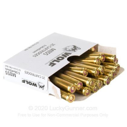 Image 3 of Wolf 5.56x45mm Ammo