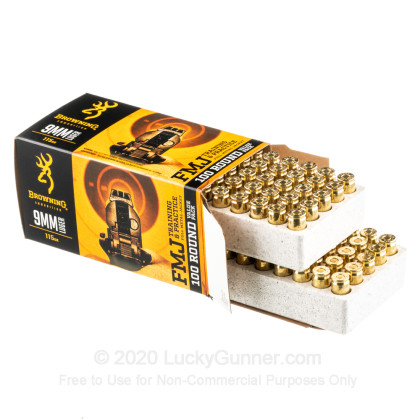 Image 3 of Browning 9mm Luger (9x19) Ammo