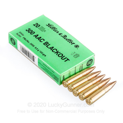 Image 3 of Sellier & Bellot .300 Blackout Ammo