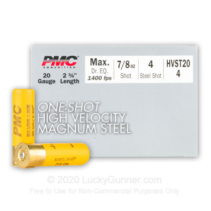 Image 1 of PMC 20 Gauge Ammo