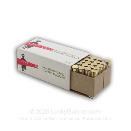 Image 2 of Centurion 5mm Remington Magnum Ammo