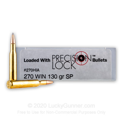 Large image of Bulk 270 Ammo For Sale - 130 Grain InterLock Ammunition in Stock by PMC Precision - 200 Rounds