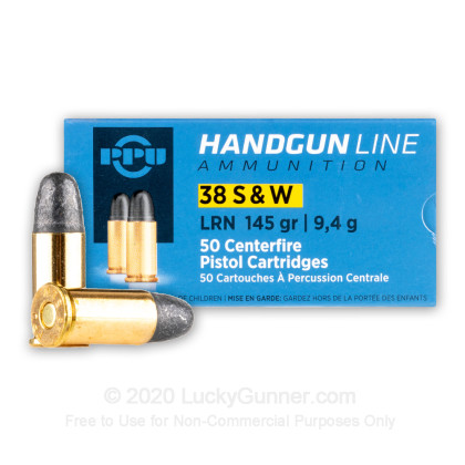 Image 1 of Prvi Partizan .38 Smith & Wesson Ammo