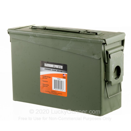 Large image of Cheap Mil Spec Ammo Can For Sale - 30 Cal M19 Ammo Can in Stock by Mil Spec Green Brand New Ammo Can - 16