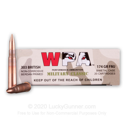 Image 2 of Wolf .303 British Ammo