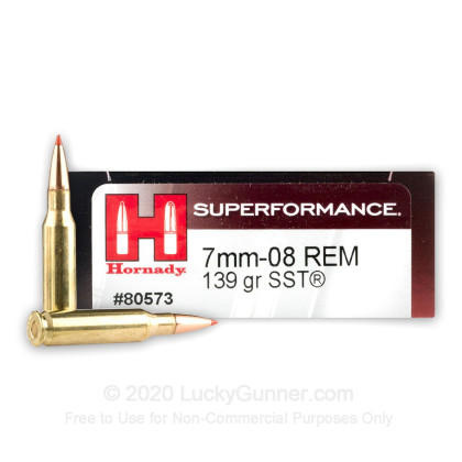 Image 1 of Hornady 7mm-08 Remington Ammo