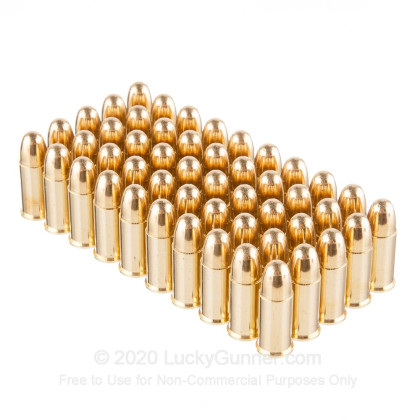 Image 4 of Fiocchi .38 Smith & Wesson Ammo