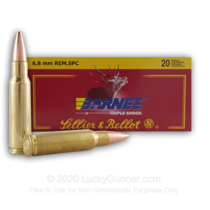 Image 1 of Sellier & Bellot 6.8 Remington SPC Ammo