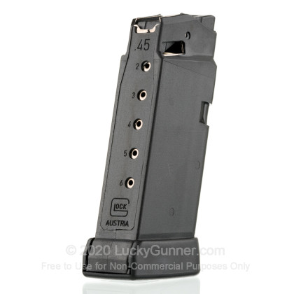 Large image of Factory Glock 45 ACP G36 6 Round Generation For Sale - 6 Rounds